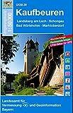 Kaufbeuren 1 : 50 000: Landsberg / Schongau (UK 50-39) (UK50 Umgebungskarte 1:50000 Bayern Topographische Karte Freizeitkarte Wanderkarte)