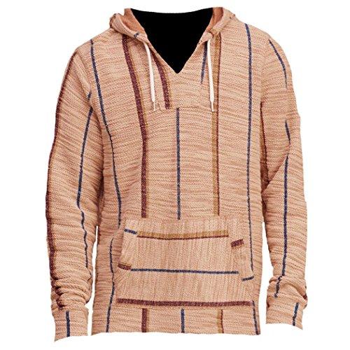 hollister-homme-boucle-baja-hoodie-sweat-a-capuche-sweatshirt-longue-taille-m-marron-624307342