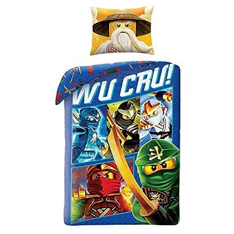 LEGO NINJAGO Kinderbettwäsche Bettwäsche 140x200 cm + 70x90 cm