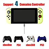 McBazel PS4 PS3 Xbox One Xbox 360 Gaming Controller Converter Adapter mit OTG Kabel für Nintendo Switch