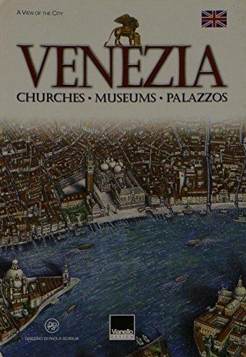 Small Poster-Map of Venice por Grafiche Vianello Srl
