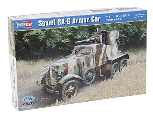 Hobby Boss 83839 - Modélisme Jeu de Soviet BA 6 Armor Car