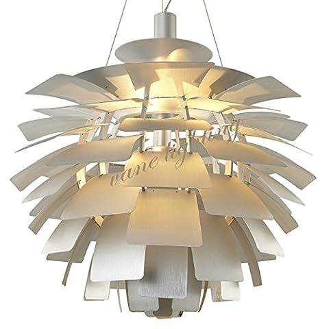 Caribou ceiling fixture/pendant Light ceiling Lamp Ceiling Light pendant Pinecone aluminium chandelier 48cm ,silver