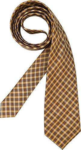 HUGO BOSS Herren Krawatte Herren-Accessoire Bunt, Größe: Onesize, Farbe: Braun