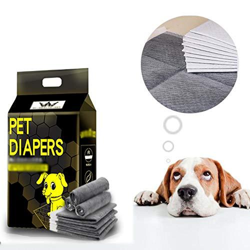 WXLJJYPD Tappetini Igienici Assorbente con Carbone Attivo per l'addestramento di Cagnolini e Altri Animali Domestici,XL