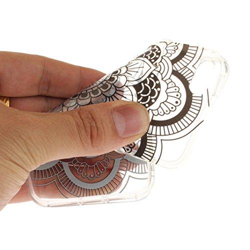 Hülle iPhone SE Glitter, iPhone 5S Tasche Glitzer, iPhone 5 Glitzer Case, Moon mood® Kristall Sparkle Schutzhülle für Apple iPhone SE / 5 / 5S 4.0 Zoll Weich hybrides TPU Stoßdämpfer + Acryl rückseiti Schwarz Sonnenblume