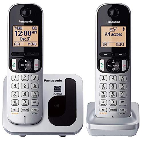 Panasonic KX-TGC212 - Teléfono fijo inalámbrico