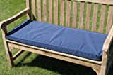 Gartenmöbel-Auflage - Auflage für 2-Sitzer-Gartenbank in Marineblau