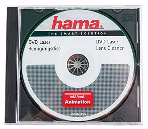 DVD de nettoyage pour tête de lecture laser de lecteurs
