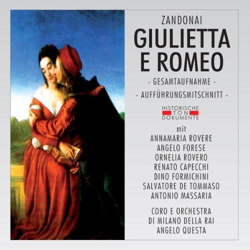 Giulietta E Romeo [Import allemand]