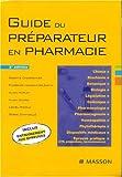 Guide du préparateur en pharmacie