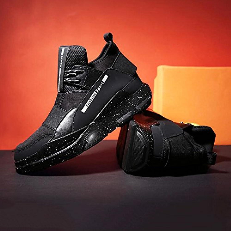 YIXINY Deporte Zapato Personalidad Los Zapatos De Los Muchachos Deportes Y Ocio Baloncesto Juventud Primavera