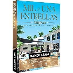 DAKOTABOX - Caja Regalo - MIL Y UNA ESTRELLAS MÁGICAS - 170 hoteles únicos de 4 y 5* como balnearios o palacios en España, Francia y Portugal