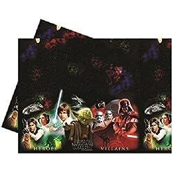 Mantel plástico Star Wars, decoración fiesta cumpleaños * 08793