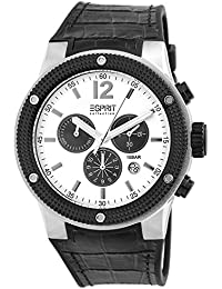 Esprit Collection Herren-Armbanduhr Anteros Chronograph Quarz Leder EL101281F02