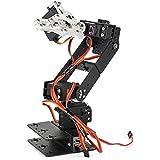 SainSmart Control Palletizing Robot Arm Brazo Robótico Model DIY w/Arduino Controller & Servos DIY (5-Axis)