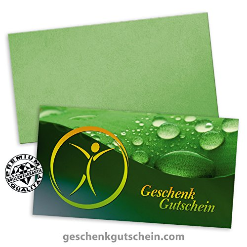 25 Premium Geschenkgutscheine Gutscheine zum Falten
