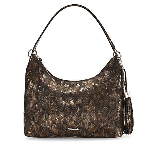 Borsa A Tracolla Da Donna Tamaris Melanie Hobo Bag, 12 X 28 X 32 Cm Bronzo