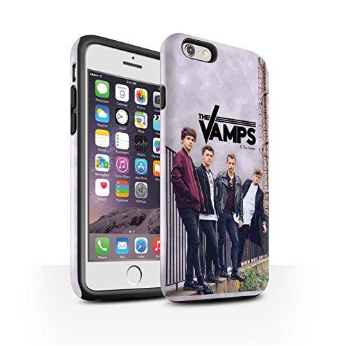 Offiziell The Vamps Hülle / Glanz Harten Stoßfest Case für Apple iPhone 6 / Pack 6pcs Muster / The Vamps Fotoshoot Kollektion Sammelalbum