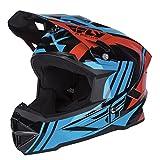 Fly Racing Downhill-MTB Helm Default Blau Gr. L
