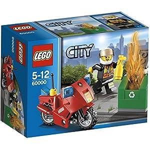 LEGO City Fire 60000 - Motocicletta dei Pompieri 0698887338226 LEGO