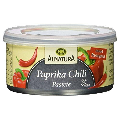 Alnatura Bio Pastete Paprika-Chili, vegan