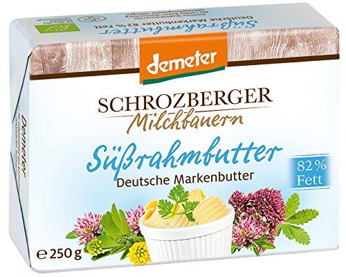 Schrozberg Bio Süßrahmbutter (1 x 250 gr)