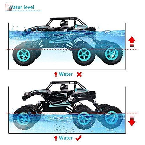RC Auto, 1:14 RC Ferngesteuertes Auto Remote Control Car Rock Crawler 6WD Elektrische Hoher Geschwindigkeit Monster Truck RC Buggy/Off Road Fahrzeug - 3