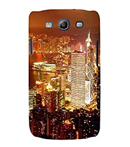 ifasho Designer Back Case Cover for Samsung Galaxy S3 I9300 :: Samsung I9305 Galaxy S Iii :: Samsung Galaxy S Iii Lte (Cities Santiago Chile Brahmapur)