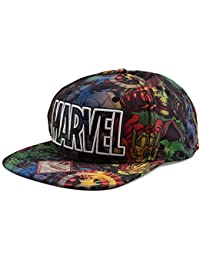 Marvel All Over Sublimation Mens Baseball Cap