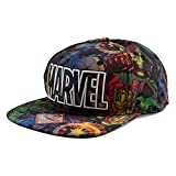 Marvel All Over Sublimation Mens Gorra De Béisbol