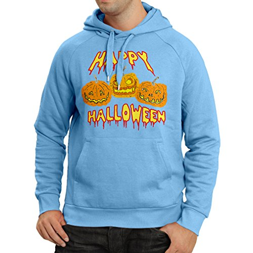 over Happy Halloween! Party Outfits & Costume - Gift Idea (XX-Large Blau Mehrfarben) (Besten Moderne Halloween-songs)