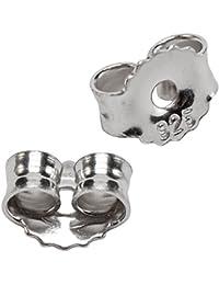 1 Paar 925/. Sterlingsilber Pousetten Verschluss Ohrstopper Silber Ersatz