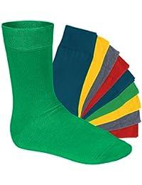 Original footstar EVERYDAY! Socken für Sie und Ihn - 10 Paar -Viele trendige Farben und Größen 35-50 wählbar! - Qualität von celodoro