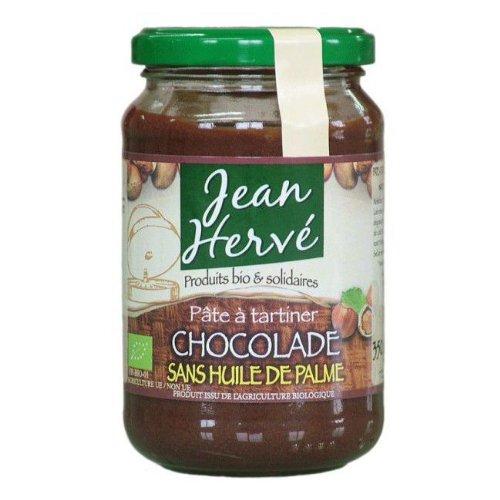 Jean Hervé - Pate à tartiner Chocolade bio sans huile de palme 350g