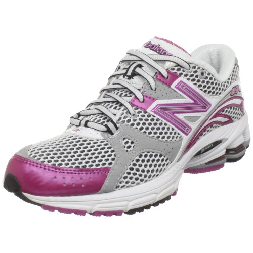 New Balance Scarpa Running Wr870 White/Pink/Silver