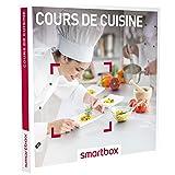 SMARTBOX - Coffret Cadeau homme femme couple - Cours de cuisine - idée cadeau - 78 établissements : un cours ou un atelier de cuisine jusqu'à 3h pour 1 ou 2