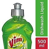 Vim Dishwash Gel - 500 ml (Lime)