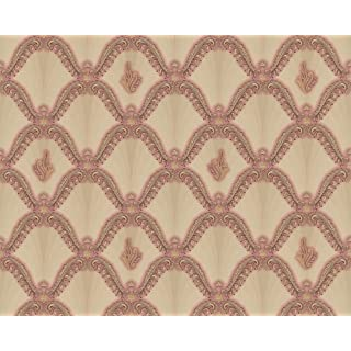 A.S. Creation Hermitage 8 891020 Patterned Wallpaper Multi-Coloured/Metallic/Red