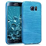 kwmobile Samsung Galaxy S6 / S6 Duos Hülle - Handyhülle für Samsung Galaxy S6 / S6 Duos - Handy Case in Türkis Transparent