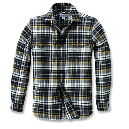 Carhartt Shirt Longsleeve Slim Fit Flannel Shadow