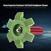 NIMOA Herramienta de Aire Acondicionado - Car Automotive A/C del Condensador del Evaporador Peine de la Enderezadora del Rastrillo
