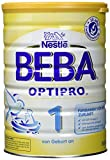 Beba Optipro 1 Anfangsmilch - von Geburt an, 6er Pack (6 x 800 g)