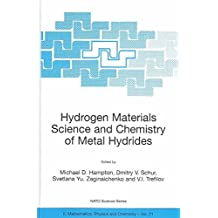 [(Hydrogen Materials Science and Chemistry of Metal Hydrides: Proceedings of the NATO Advanced Research Workshop, Katsiveli, Yalta, Ukraine)] [Edited by Michael D. Hampton ] published on (August, 2002)
