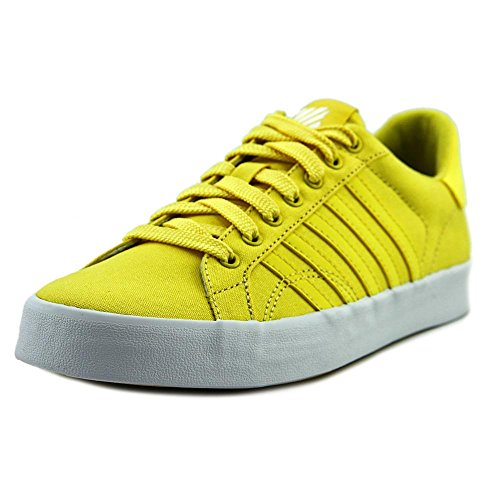 K-Swiss Damen Belmont SO Fashion Sneaker, (Lemon Drop/White), 36 M EU (Schuhe 36 M)