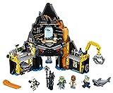 LEGO Ninjago Garmadons Vulkanversteck 70631, Bauspielzeug -