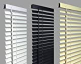 New 120cm WHITE Pvc Venetian Blinds, AVAILABLE IN 10 SIZES AND 3 COLOURS .Buy As Many As Like For A Max Of £4.99 Shipping. Original