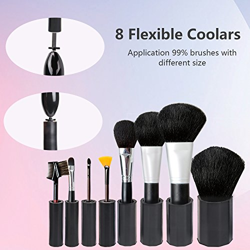 Make Up Brush Cleaner Kit Women Girls Birthday Gift, WloveTravel Electric Automatic Makeup Brush Cleaner and Dryer Machine Set,�360 Rotation Completely Cleans and Dries All Makeup Brushes in Seconds (Black)