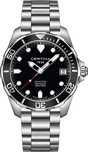 Certina DS Action Herren-Armbanduhr 41mm Batterie C032.410.11.051.00