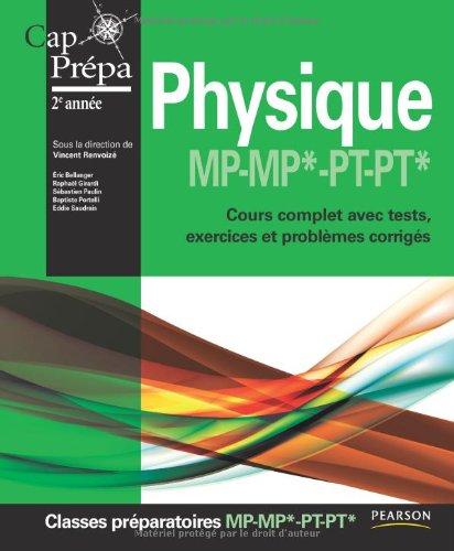 Physique MP-MP* PT-PT*